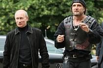 Alexander Zaldostanov s Vladimírem Putinem