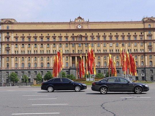 Sídlo ruských tajných služeb v Moskvě