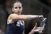 Karolína Plíšková v semifinále Fed Cupu.