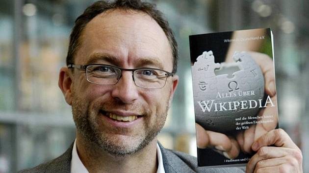 Zakladatel internetové encyklopedie Wikipedia Jimmy Wales.