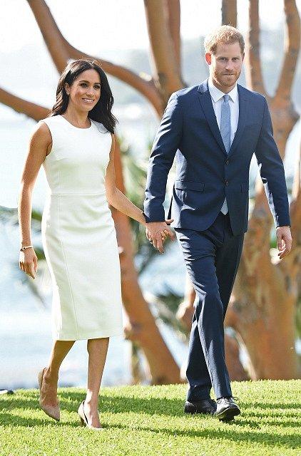 Princ Harry a vévodkyně Meghan na návštěvě Austrálie