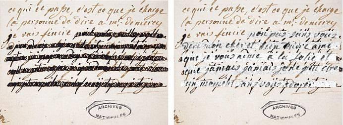 Dopisy zahalené tajemstvím. Vědci nyní rozklíčovali zaškrtaný obsah z tajných dopisů, které Marie Antoinetta posílala svému favoritovi, hraběti von Fersenovi.