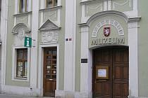 Infocentrum v Duchcově.