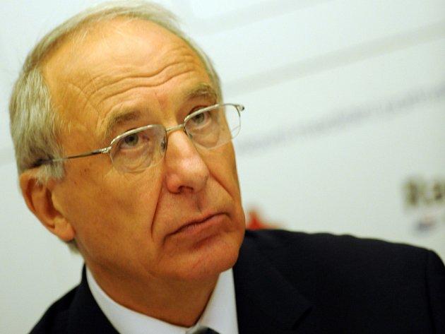 Předseda Českého olympijského výboru Milan Jirásek.
