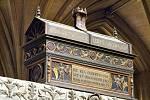 Pohřební truhla z Winchesterské katedrály