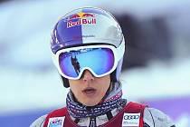 Česká lyžařka Ester Ledecká.