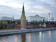 Moskevský Kreml, sídlo ruských prezidentů. Ilustrační foto.