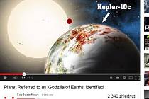 """Astronomové objevili ve vesmíru """"zemskou godzillu"""""""