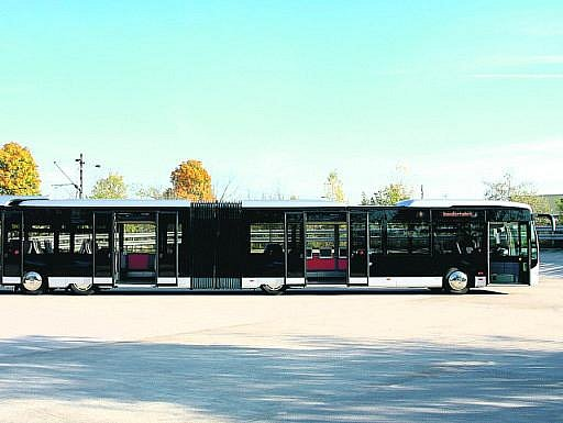 Autobusy Mercedes-Benz CapaCity se vyrábějí v českém Holýšově