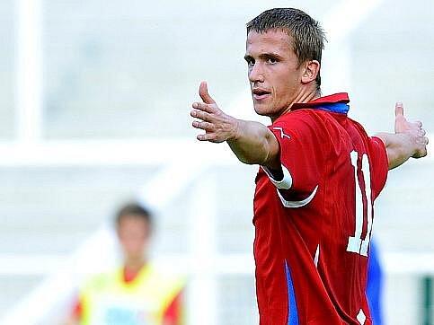 Tomáš Pekhart si připsal gól.