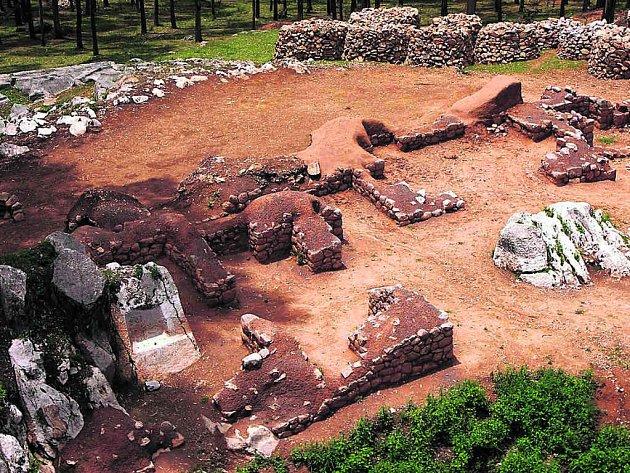 Ruiny předincké stavby zabírají plochu jen asi 250 metrů čtverečních.
