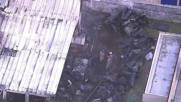 V tréninkovém centru fotbalistů brazilského Flamenga hořelo