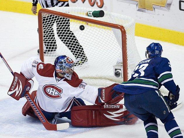 Carey Price v brance Montrealu dělal co mohl, debaklu svého týmu ale ani on nezabránil.
