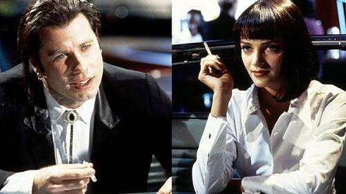 John Travolta a Uma Thurman ve snímku Pulp Fiction