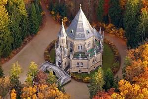 Schwarzenberská knížecí hrobka u Domanína