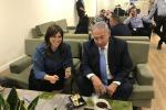 Náměstkyně izraelského ministra zahraničí Cipi Chotovelyová a izraelský premiér Benjamin Netanjahu