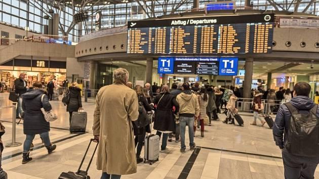 Letiště ve Stuttgartu. Ilustrační snímek