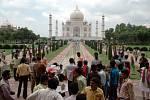 Tádž Mahal navštíví ročně kolem 8 milionů turistů