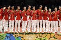 Čínské volejbalistky se po 12 letech vrátily na olympijský trůn