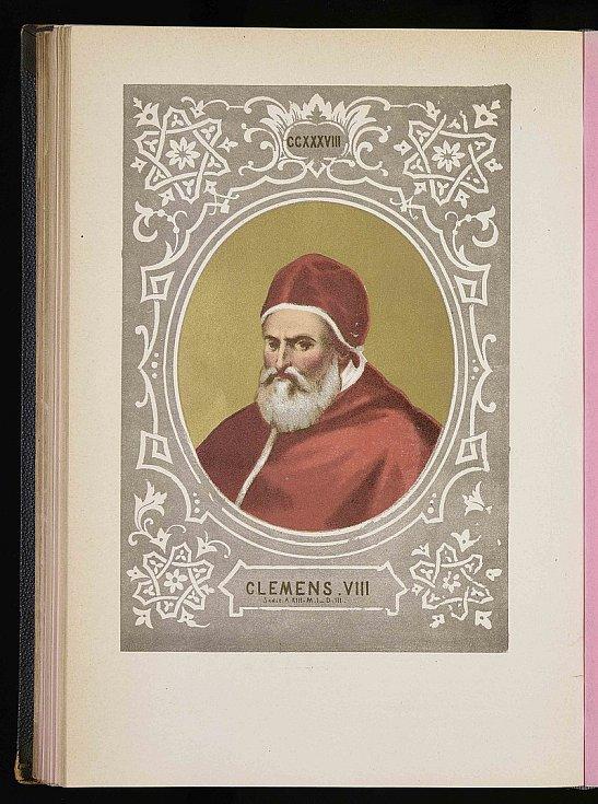 Papež Klement VIII. patřil k zapřísáhlým Brunovým nepřátelům