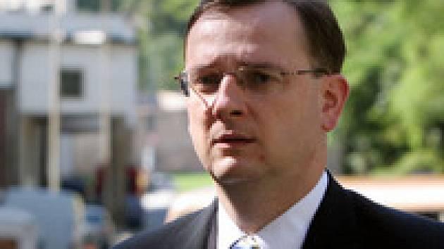 Ministr práce a sociálních věcí Petr Nečas