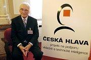 Malíř a pedagog Jiří Načeradský.