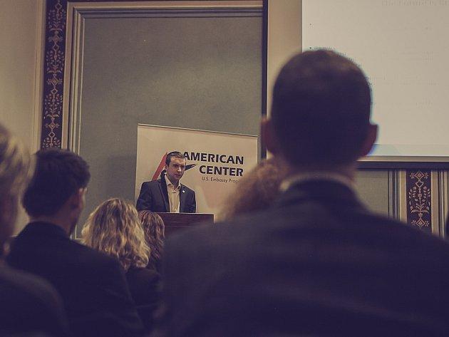Při příležitosti vzniku Baxalta Czech se 1. února uskutečnilo setkání v Americkém centru na velvyslanectví Spojených států amerických v Praze.