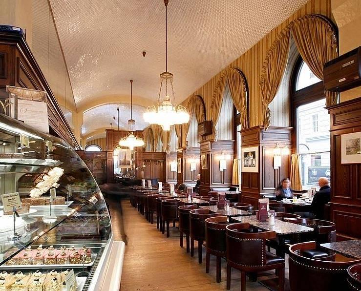 Café Schwarzenberg ve Vídni