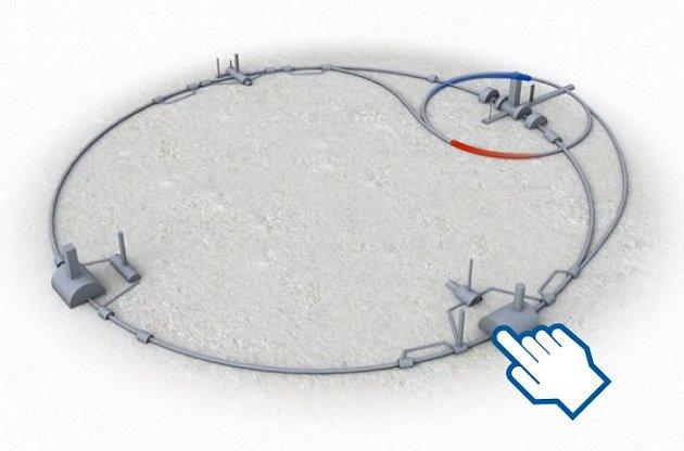 Největší urychlovač CERN.