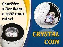 Soutěžte s Deníkem o stříbrnou minci CRYSTAL COIN