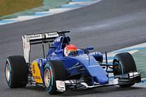 Felipe Nasr během testů v Jerezu.