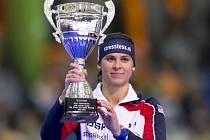 Rychlobruslařská sprinterka Brittany Boweová.