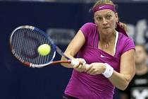 Petra Kvitová na turnaji v Linci.