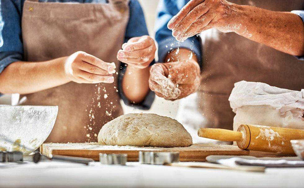 Příprava domácího chleba