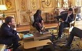 Emmanuel Macron a jeho pes Nemo