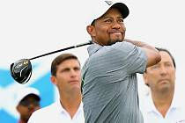 Tiger Woods behěm turnaje Hero World Challenge.