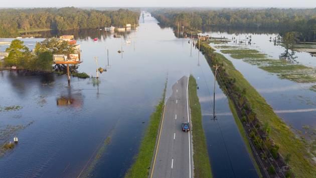 Povodně po hurikánu Florence