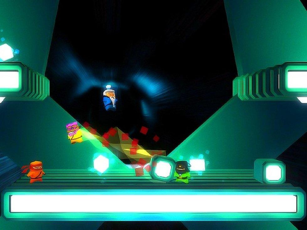 Počítačová hra Atomic Ninjas.