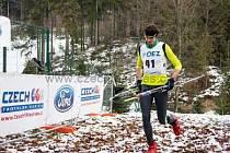 David Janda je novým mistrem republiky v zimním triatlonu