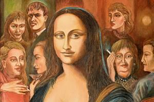 Obraz od Karla Gotta Mona Lisa.