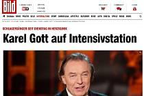 Článek německého deníku Bild.