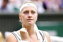 Petra Kvitová postoupila do finále nejslavnějšího tenisového turnaje světa - Wimbledonu.