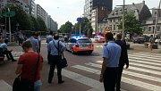 Střelba v centru belgického Lutychu
