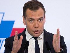 Ruský premiér Dmitrij Medveděv.