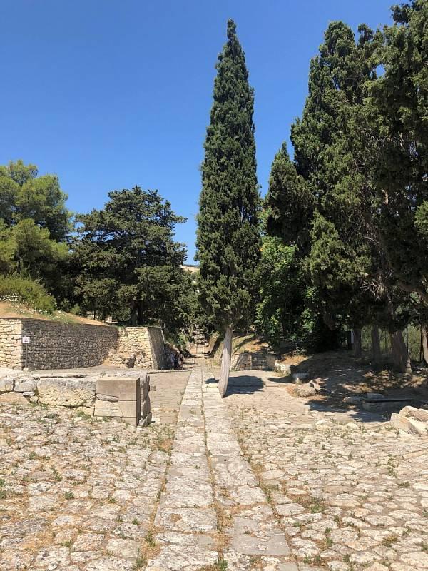 Dovolená na Krétě. Návštěva paláce Knossos