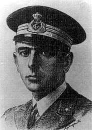 Italský námořní kapitán Pietro De Cristofaro (1900-1941)