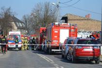 V polské Poznani se po výbuchu plynu zřítil dům