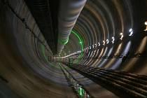ražba tunelu u Plzně