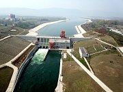 Jiho-severní transport vody v Číně