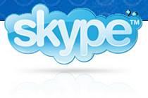 Logo programu Skype.